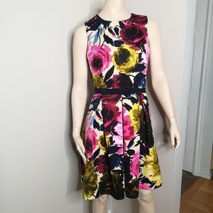 Taylor Floral Fit & Flare Dress Size 10